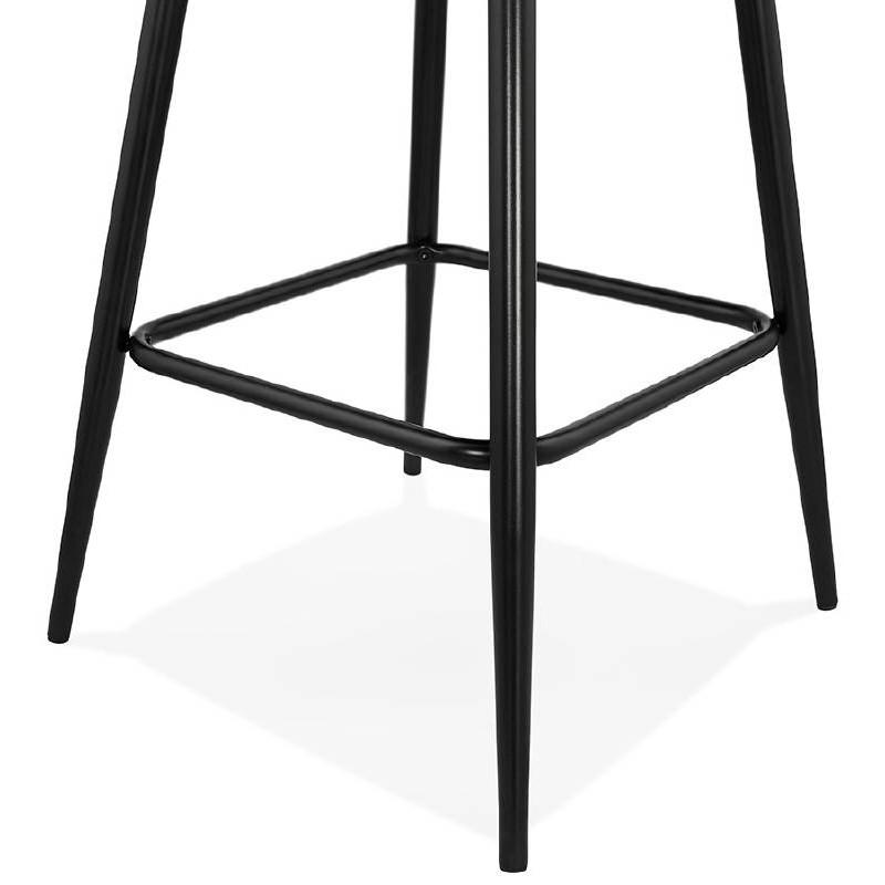 Sedia bar Sgabello da bar design metà altezza JOSEPH MINI (grigio scuro) - image 37675