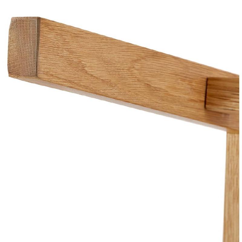 Tabouret de bar chaise de bar mi-hauteur design scandinave FLORENCE MINI (gris clair) - image 37823
