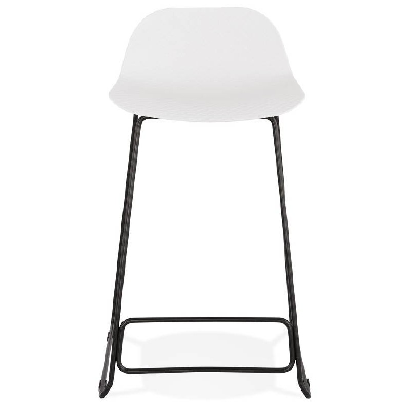 Outstanding Bar Stool Design Mid Height Ulysses Mini Feet White Black Metal Bar Chair Designer Bar Stools Machost Co Dining Chair Design Ideas Machostcouk