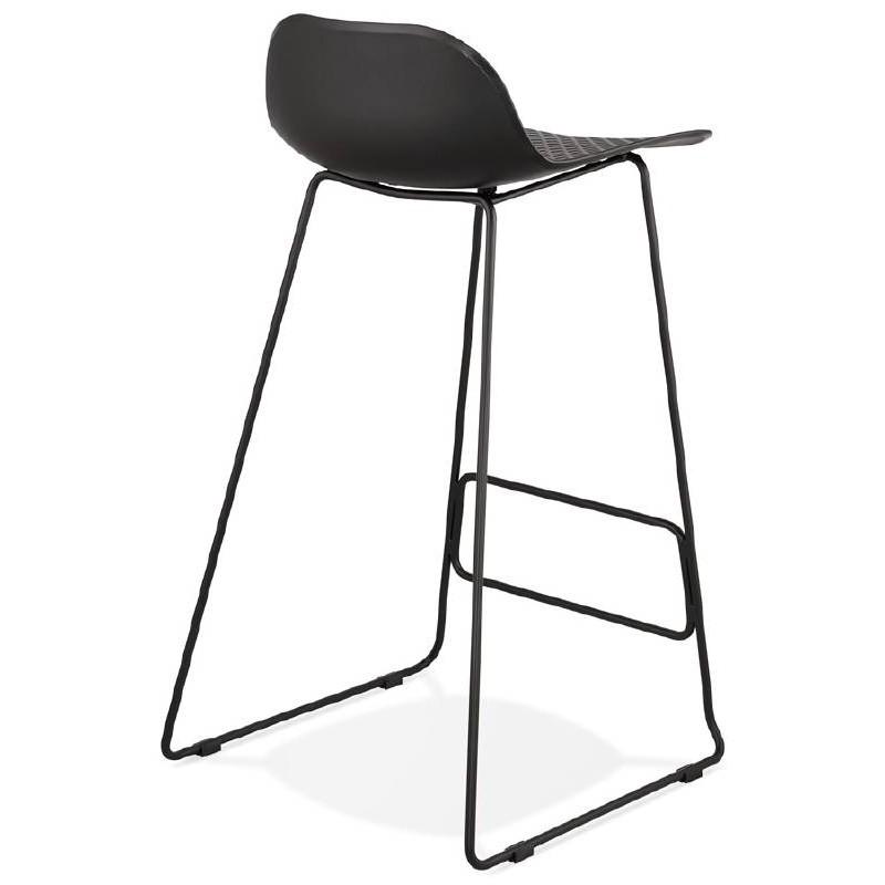 tabouret de bar chaise de bar design ulysse pieds m tal. Black Bedroom Furniture Sets. Home Design Ideas