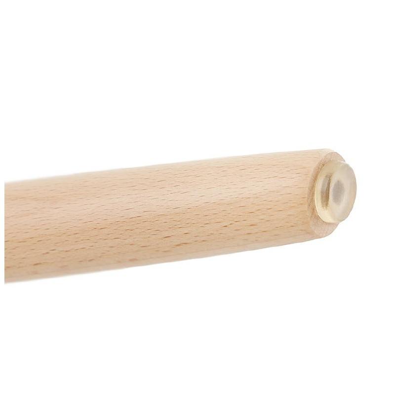 Low stool design Scandinavian GASPARD (white) - image 38136