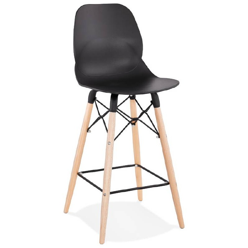 tabouret de bar chaise de bar mi hauteur scandinave paco. Black Bedroom Furniture Sets. Home Design Ideas