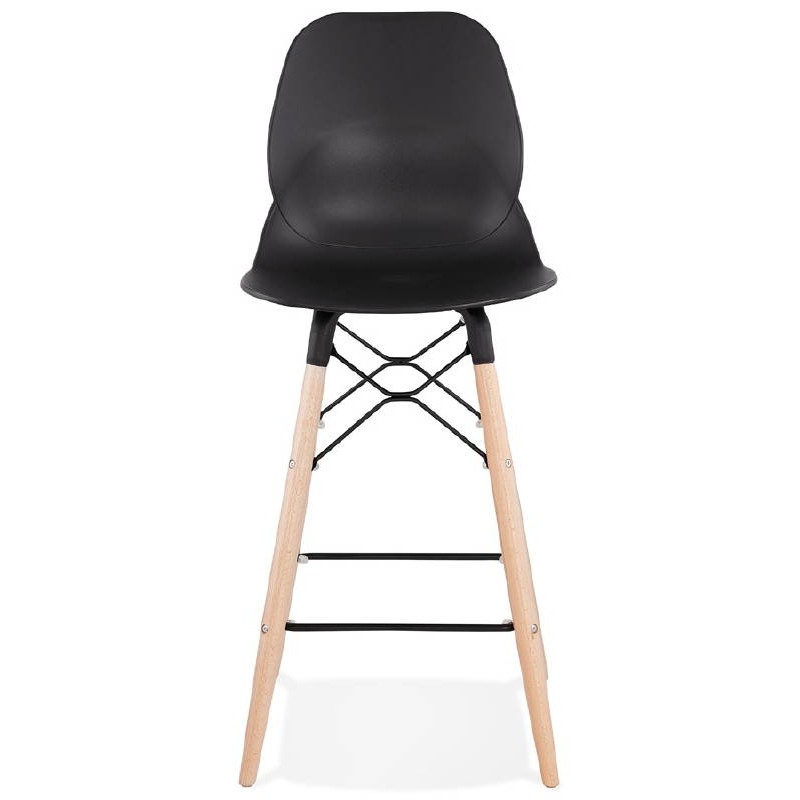 La barra hasta la mitad taburete de la silla de PACO escandinavo (negro) - image 38155
