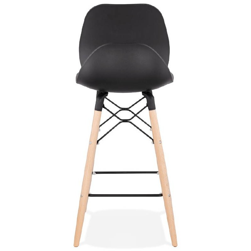 La barra hasta la mitad taburete de la silla de PACO escandinavo (negro) - image 38158