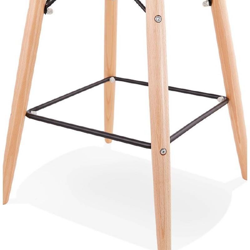 La barra hasta la mitad taburete de la silla de PACO escandinavo (negro) - image 38165