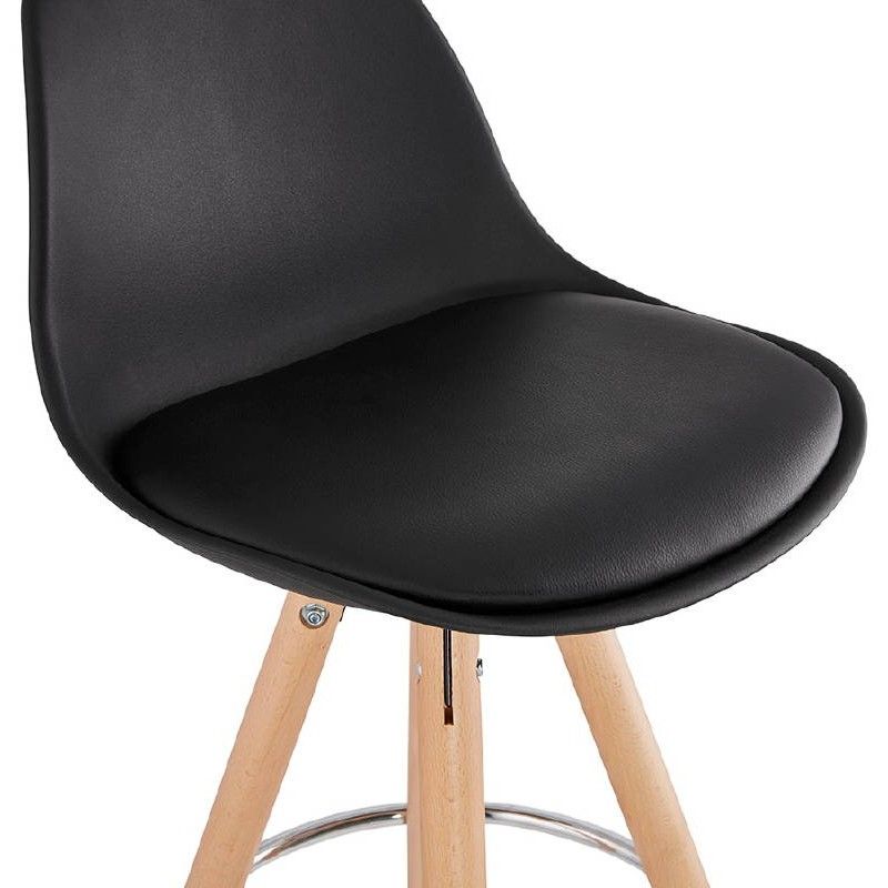 tabouret de bar mi hauteur design scandinave octave mini. Black Bedroom Furniture Sets. Home Design Ideas