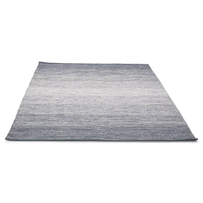 Tappeto design rettangolare (230 X 160 cm) cotone Basil (blu) - image 38509