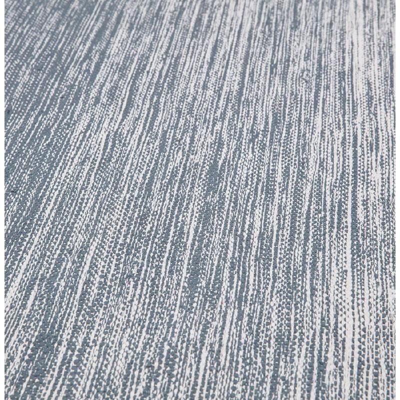 Tappeto design rettangolare (230 X 160 cm) cotone Basil (blu) - image 38515