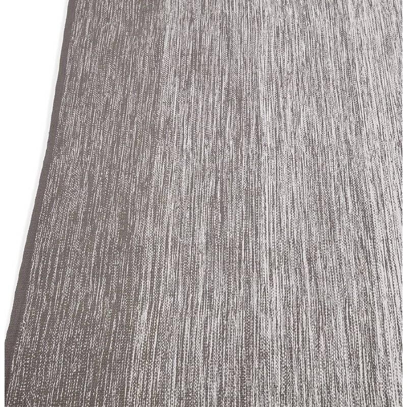 Tappeto design rettangolare (230 X 160 cm) cotone Basil (grigio) - image 38524