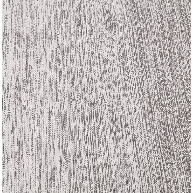 Tappeto design rettangolare (230 X 160 cm) cotone Basil (grigio) - image 38525