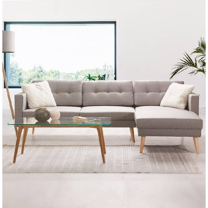 Tapis design rectangulaire style berbère (230 cm X 160 cm) CELIA en coton (gris) - image 38562