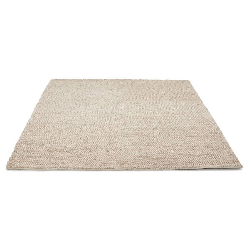 Carpet Design Rectangular Cm X Cm Bader In Wool Beige With Bader Sofa