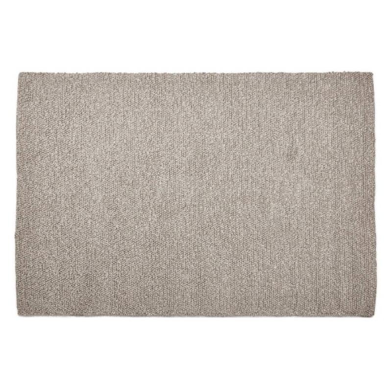 Tapis design rectangulaire (230 cm X 160 cm) BADER en laine (gris) - image 38596