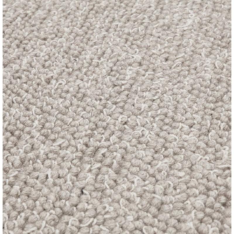 Tapis design rectangulaire (230 cm X 160 cm) BADER en laine (gris) - image 38604