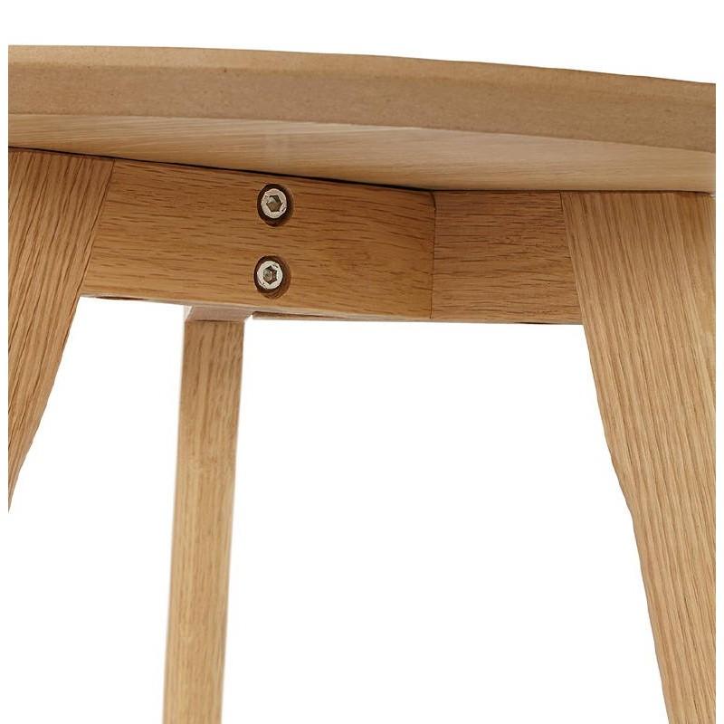 Doccetta estraibile tavoli d\'arte in legno e rovere (naturale)