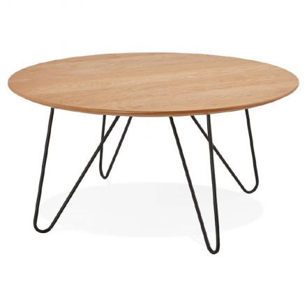 Coffee Table Design Frida Wood And Metal Natural Amp Story 5676