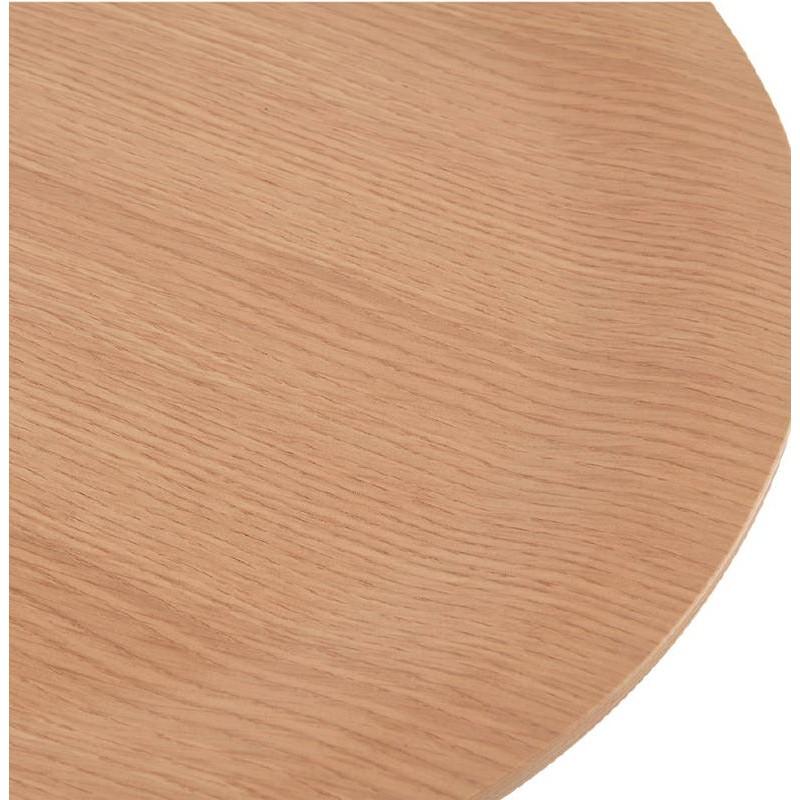 Table d'appoint, bout de canapé design ZACK (naturel) - image 38756
