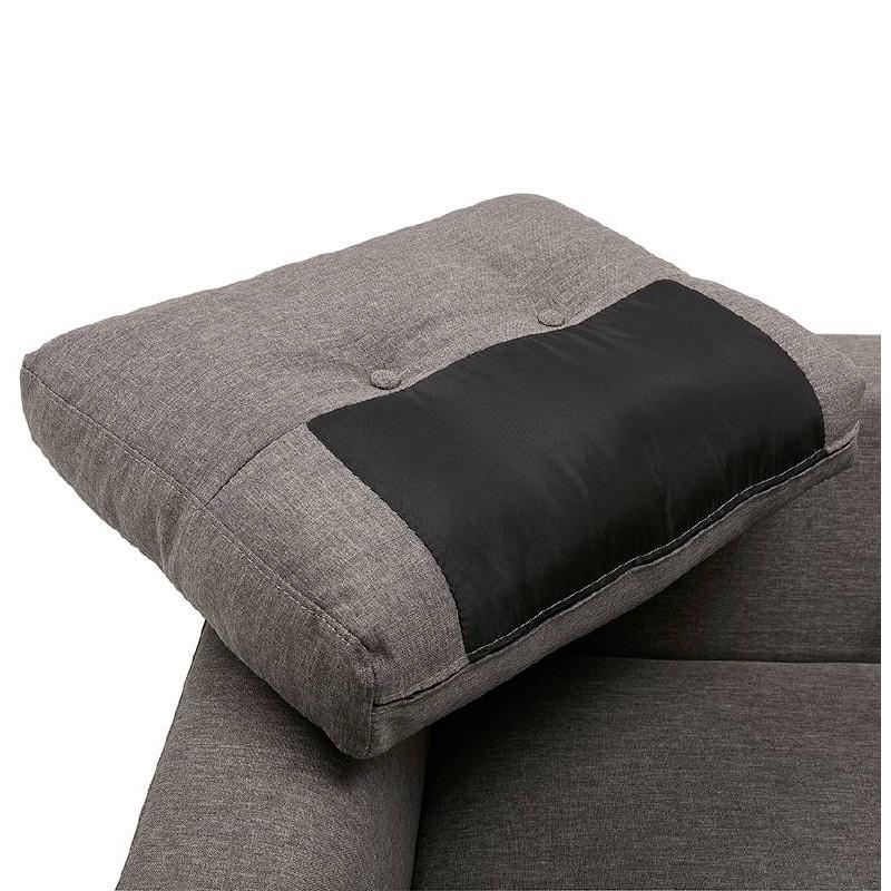 Fauteuil design IRINA en tissu (gris foncé) - image 38884
