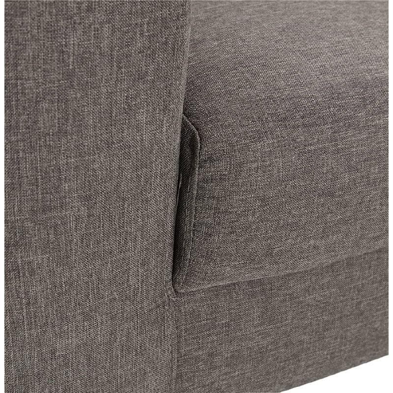 Fauteuil design IRINA en tissu (gris foncé) - image 38888