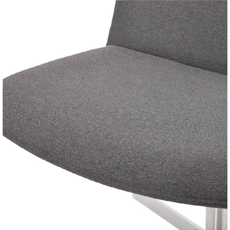 Fauteuil design pivotant MIRANDA (gris foncé) - image 38965