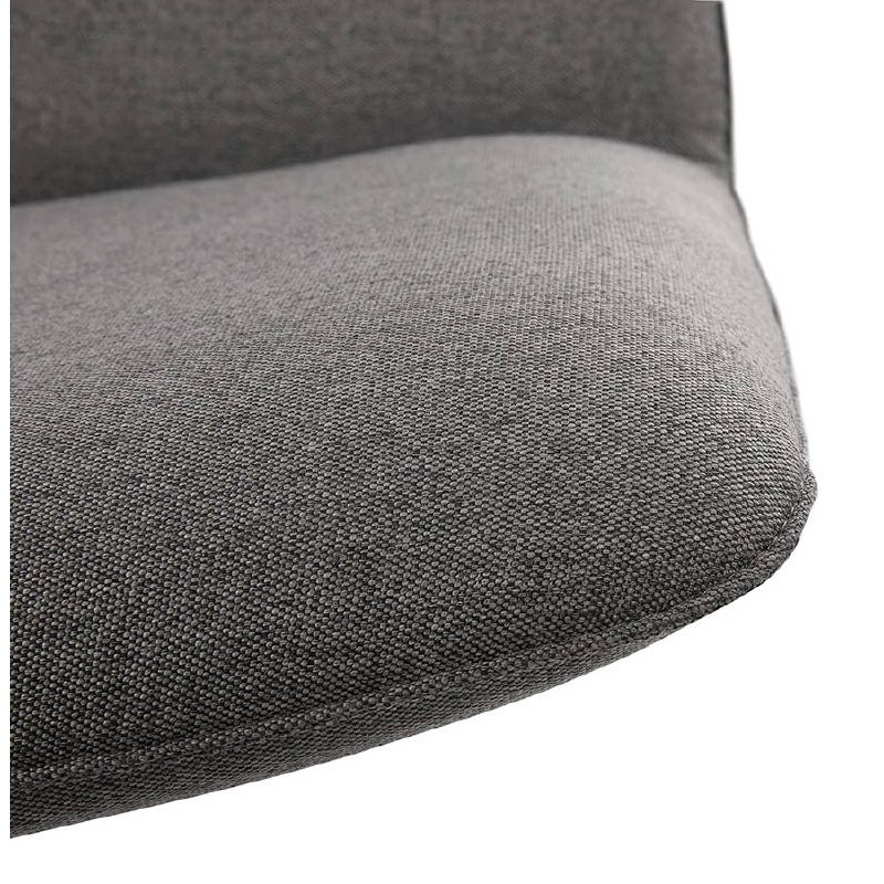 Fauteuil design pivotant MIRANDA (gris foncé) - image 38967
