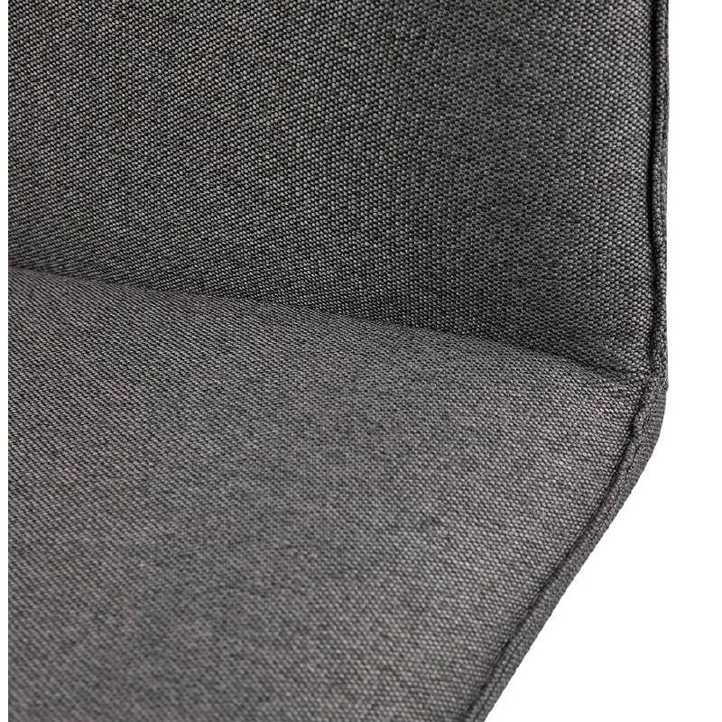 Fauteuil design pivotant MIRANDA (gris foncé) - image 38968
