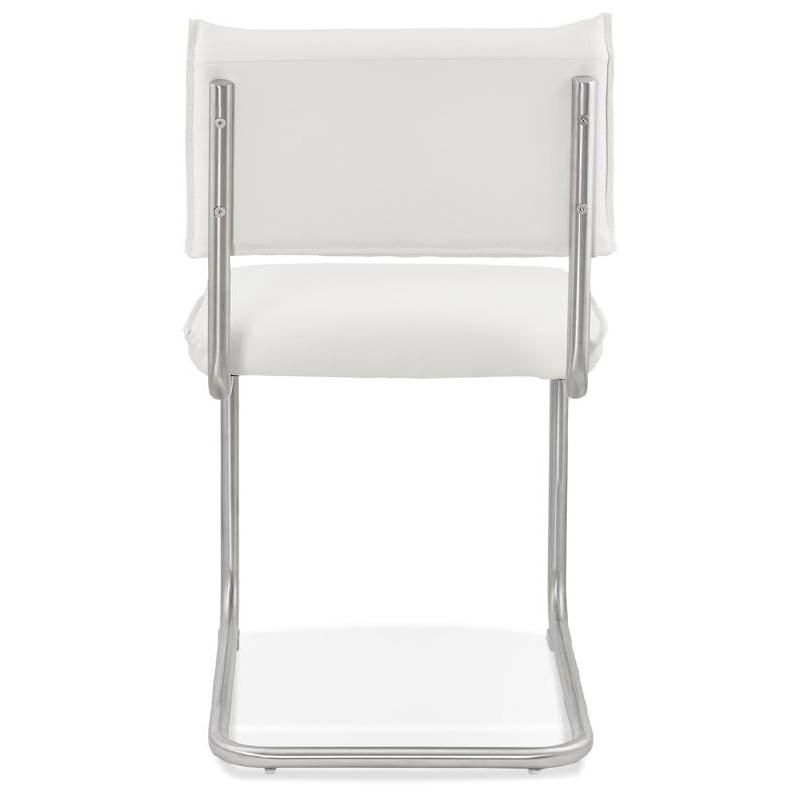 Chaise design rembourrée COLOMBA (blanc) - image 38993