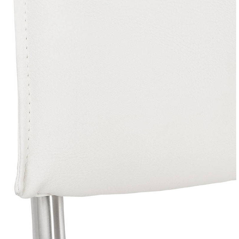 Chaise design rembourrée COLOMBA (blanc) - image 38996