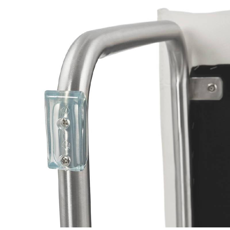 Chaise design rembourrée COLOMBA (blanc) - image 38998