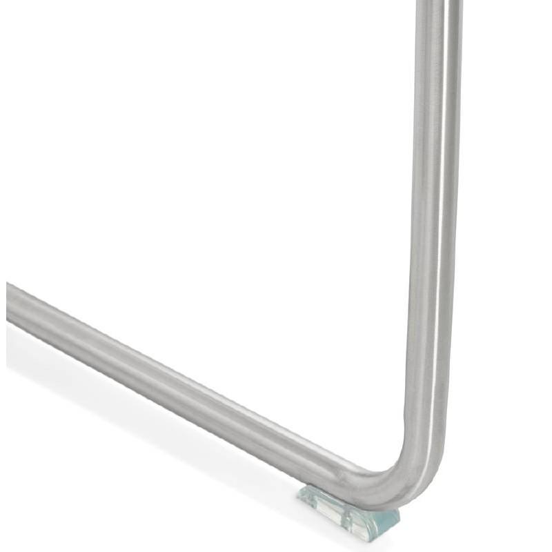 Chaise design rembourrée COLOMBA (blanc) - image 39000