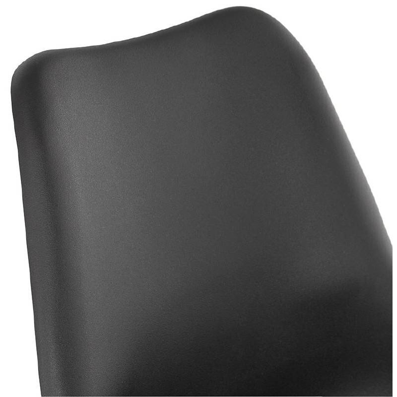 Chaise design style industriel SANDRO (noir) - image 39008