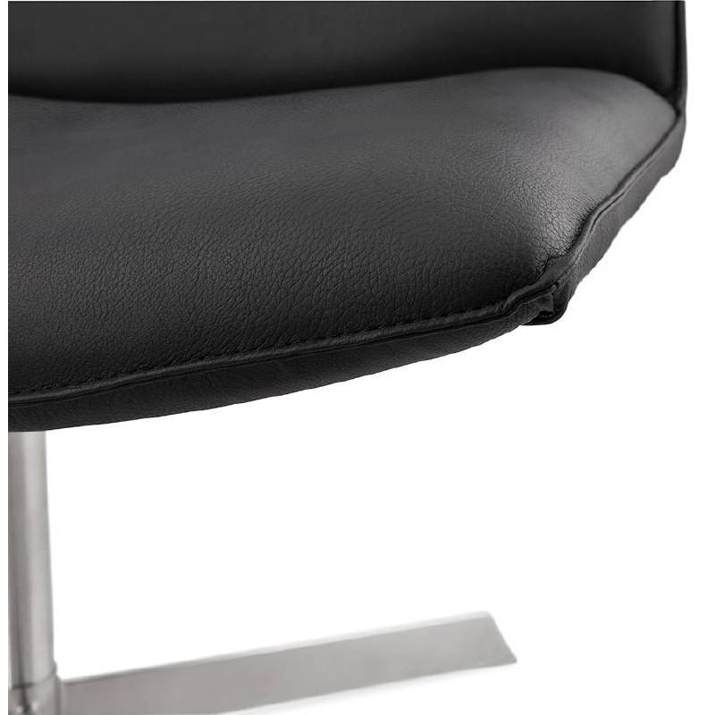 Fauteuil design pivotant MIRANDA (noir) - image 39073