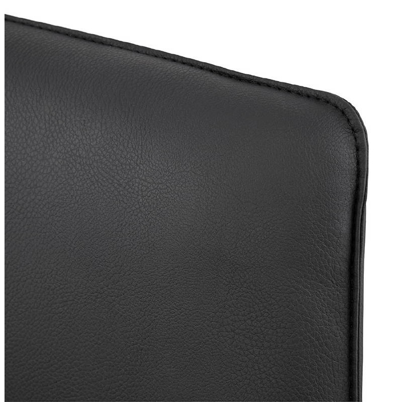 Fauteuil design pivotant MIRANDA (noir) - image 39074