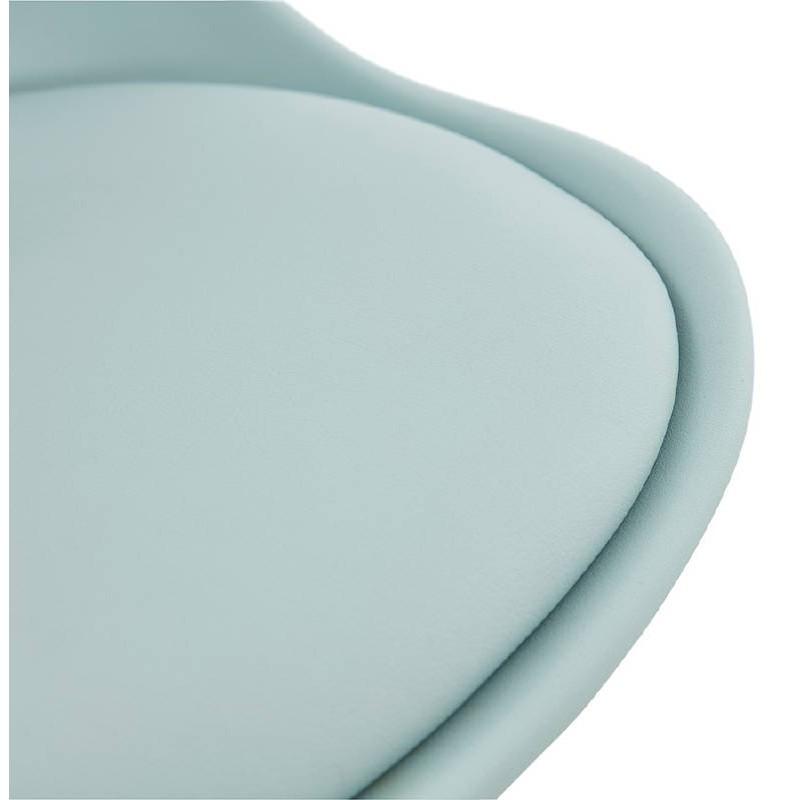 Chaise moderne style scandinave NORDICA (bleu ciel) - image 39123