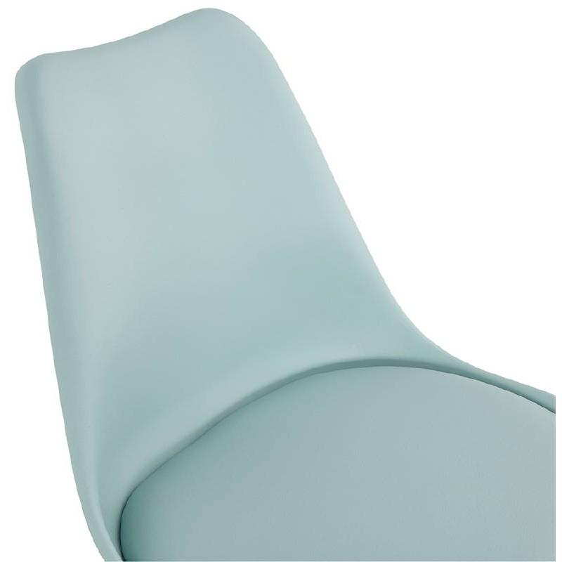 Chaise moderne style scandinave NORDICA (bleu ciel) - image 39124