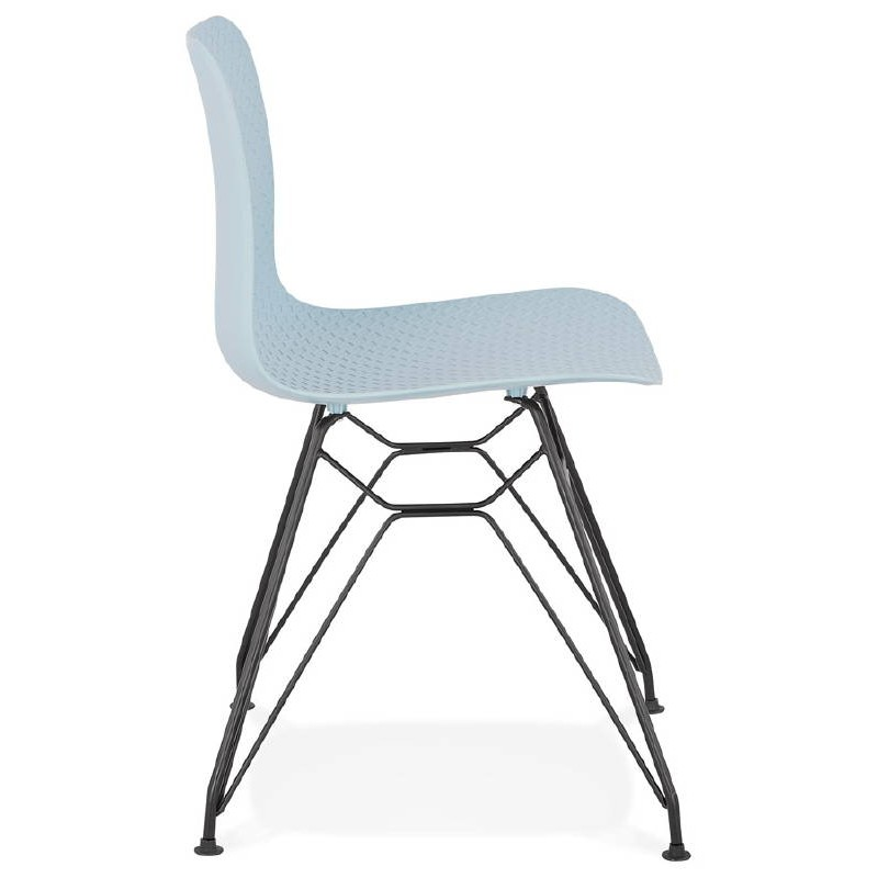Design und industrielle stuhl venus f e himmelblau for Design stuhl metall
