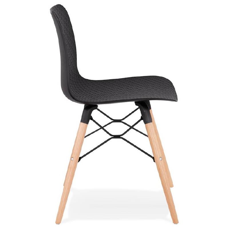 Silla de diseño escandinavo CANDICE (negro) - image 39471