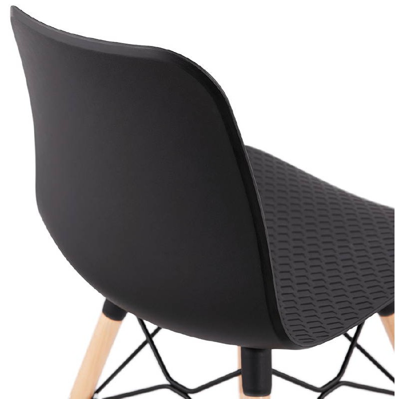 Chaise design scandinave CANDICE (noir) - image 39475