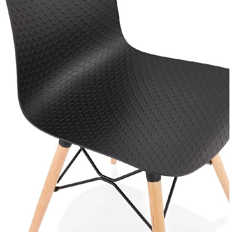 Chaise design scandinave CANDICE (noir) - image 39476
