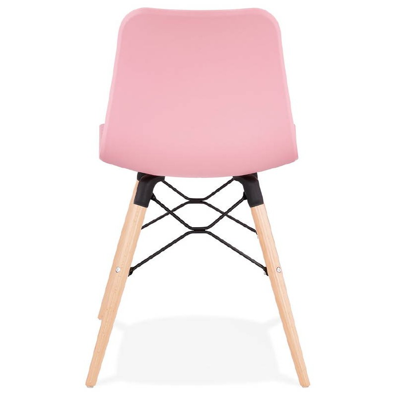 Chaise design scandinave CANDICE (rose) - image 39488