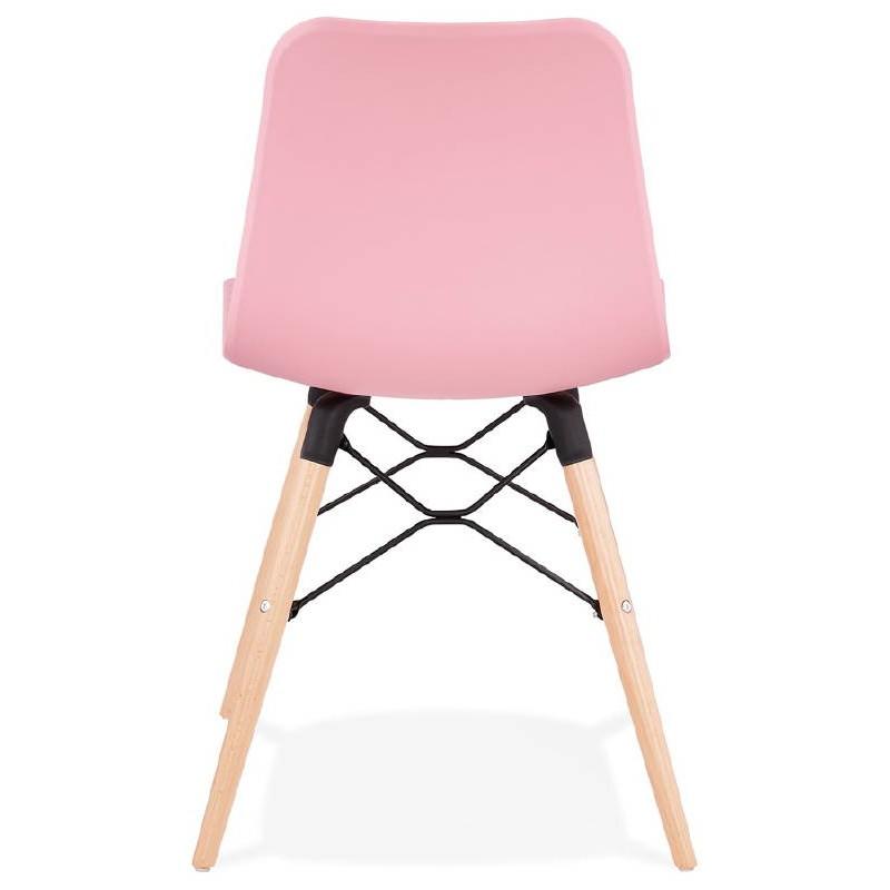 Sedia design scandinavo CANDICE (rosa) - image 39488