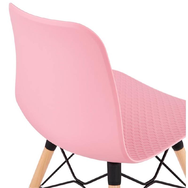 Silla de diseño escandinavo CANDICE (rosa) - image 39490
