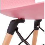 Silla de diseño escandinavo CANDICE (rosa)