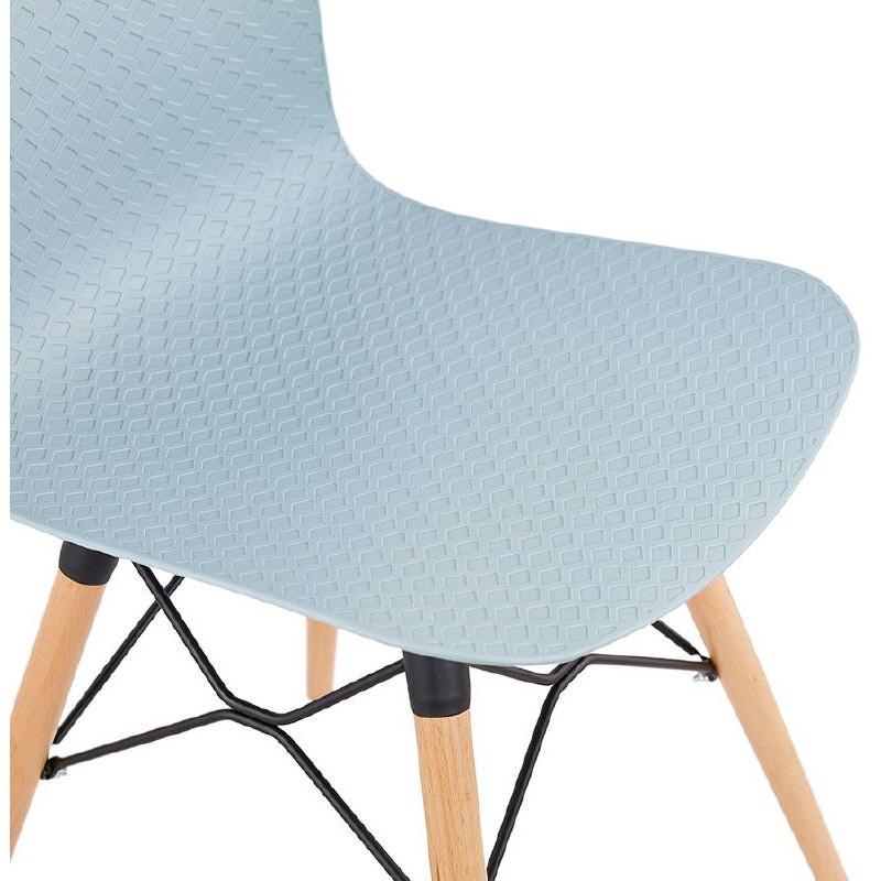 Scandinavian Design Chair Candice Sky Blue