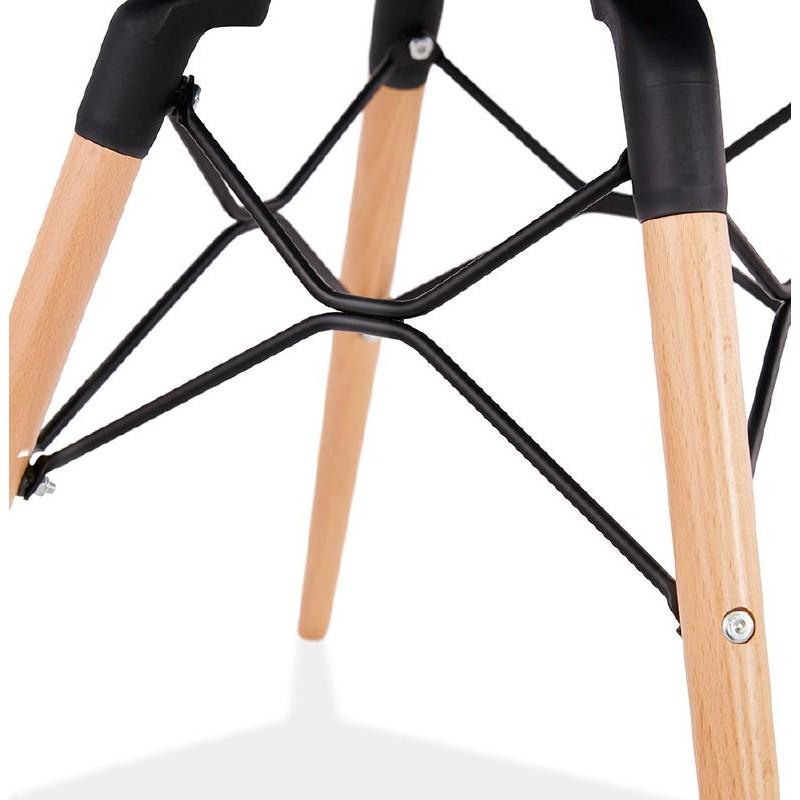 Skandinavisches Design Stuhl CANDICE (himmelblau) - image 39511