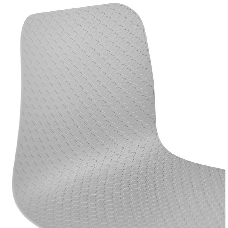 Chaise design scandinave CANDICE (gris clair) - image 39519