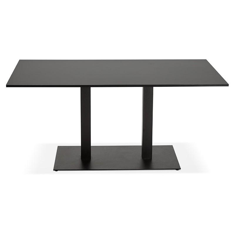 Table à manger design ou table de réunion LUCILE (160x80x75 cm) (noir) - image 39795