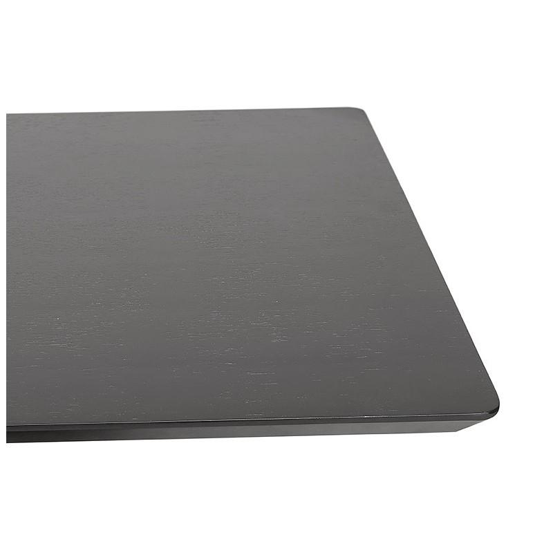 Table à manger design ou table de réunion ANDREA (180x90x75 cm) (noir) - image 39853