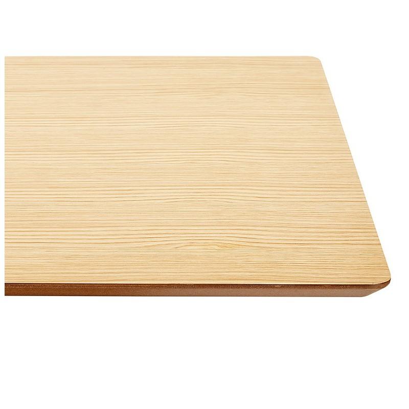 Table à manger design ou table de réunion ANDREA (180x90x75 cm) (finition chêne naturel) - image 39864