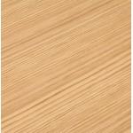 Table à manger design ou table de réunion ANDREA (180x90x75 cm) (finition chêne naturel)